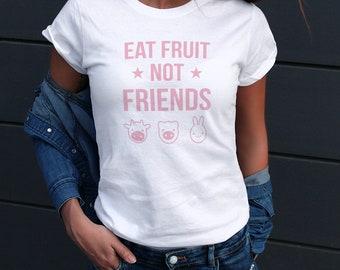 Vegan Shirt / Cute Womens Vegan Clothing Funny Tee Veganism Vegetarian Saying Ladies Veggie Tank Top Gift for Her ideas WTD07P & Womens Vegan Shirt / Christmas Gifts for Her / Cute Vegan   Etsy