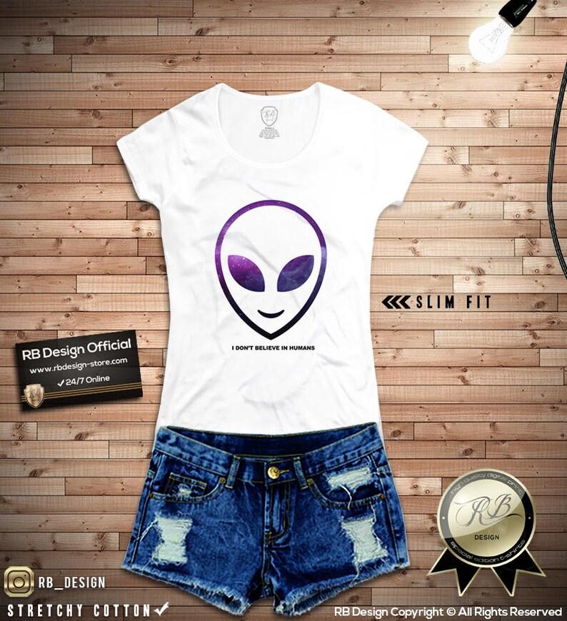 85824db5 Funny Alien Shirt / Womens Alien Tee Shirt Funny Slogan Tshirt | Etsy