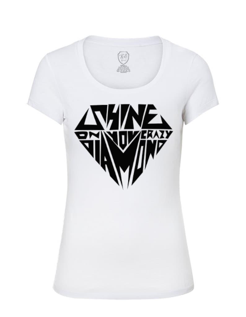Diamond T Shirts   Womens Diamonds Shirts Cool Saying Tees  9a9cebe4dfc7