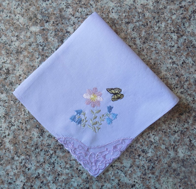 First Lady Church Handkerchief Personalized Lace Handkerchief Women\u2019s Church Handkerchief Custom Monogrammed Initial Handkerchief