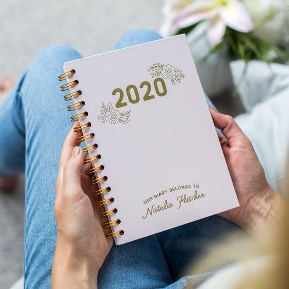 diary personalised diary weekly planner week to
