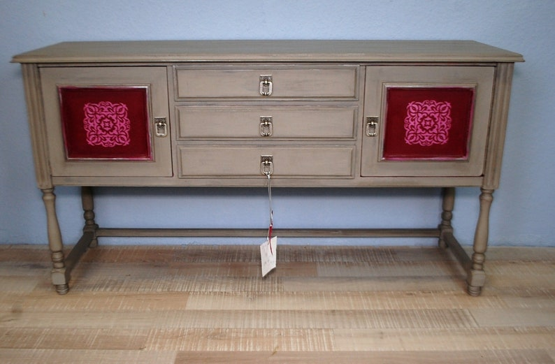 Sideboard Dresser Upcycling With Chalk Paint Shabby Chic Etsy