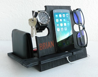 Docking StationGift For Men Who Have EverythingGift 30thgift 50Gift AnniversaryGift BirthdayBrian