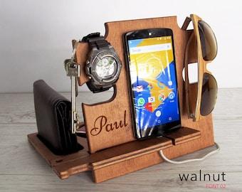 Personalized Mens Birthday Giftbirthday Giftgift For Himgift Mengift Husbandgift Dad Giftsdocking Stationiphone