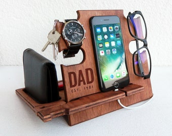 Gift Ideas for Dad,Docking Station,Christmas Gift,Charging Station,Gift for Men,Daddy Gift,Papa Gift,Dad Christmas Gift,Dad Gift Idea