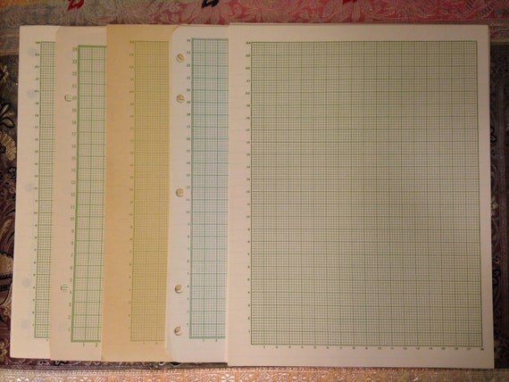science grid graph paper for old schoolhouse memories etsy