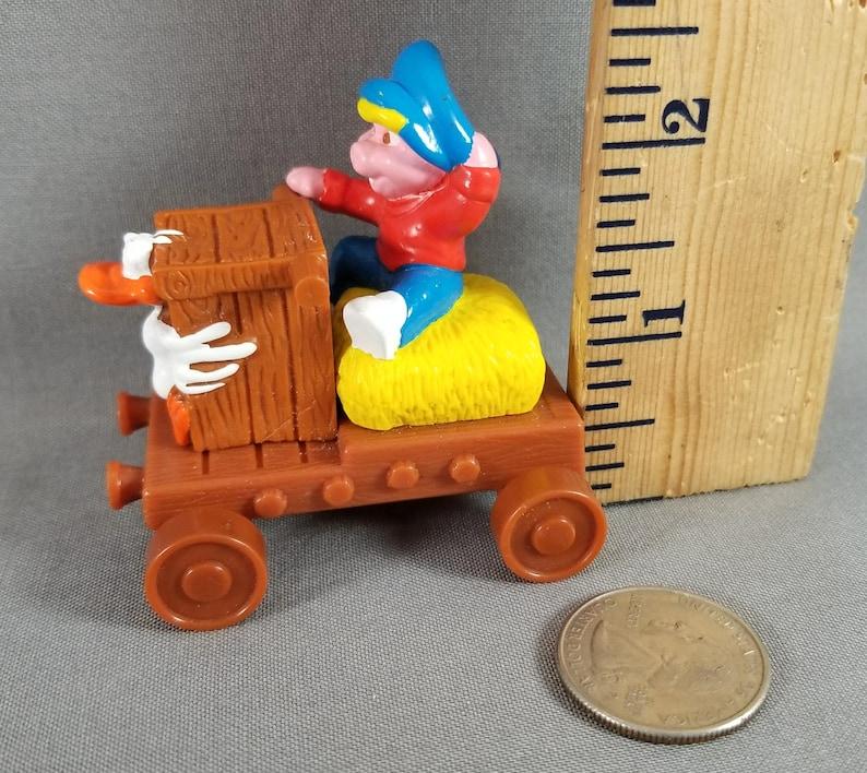 Piggsburg Pigs Push and Pull Toys Piggy /& Quackers Soapbox Racer McDonald/'s Vehicles RARE PVC Toy Mini Toy