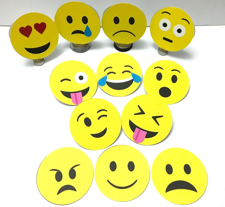 emoji note cards blank inside kids reminders adults  etsy