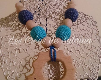 Babywearing and nursing necklace
