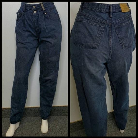 LEVI'S VINTAGE 900 series high waist pleated taper