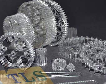 Plastic and Acrylic Laser Cutting and engraving, parts making, prototype, 3D puzzle, jigs, templates, jewelry and more