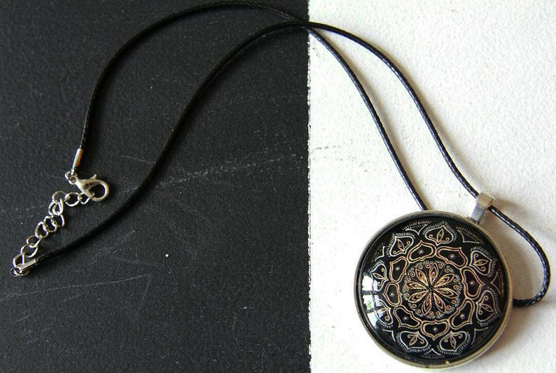 Mandala Collection Mandala Necklace.