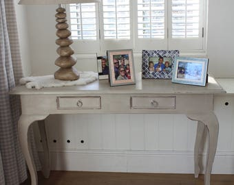 Beautiful Shabby Chic Sideboard Entrance Hallway Storage painted in Annie Sloan