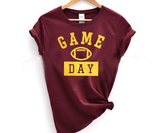 c9e5743706 Game Day Shirt with Gold Foil Print