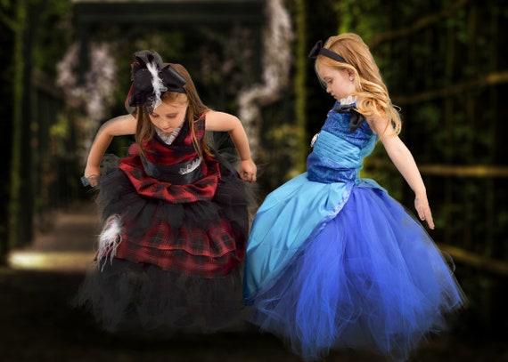 Alice in Wonderland & Mad Hatter Ballgown Dresses Designer | Etsy