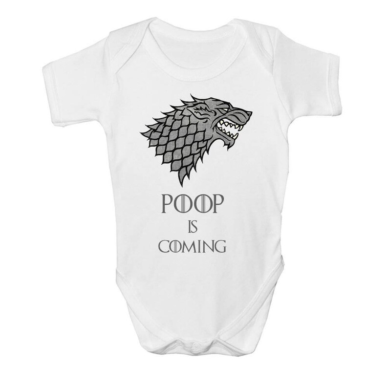 Game of Thrones Baby Vest Grow Funny Bodysuit Top Size Boys Girls Gift Thats What I Do I Drink /& I Know Things 0-3 Months