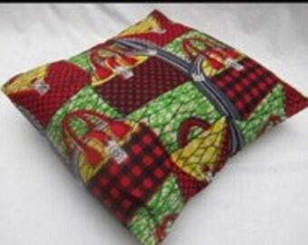 kitenge cushion covers
