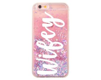 wifey liquid glitter moving glitter iphone 7 case iphone 7 etsy