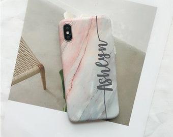 iPhone XR case.Marble case.Granite Stone iPhone case.Marble iPhone Xr case.Personalize iPhone XR case.Custom Name iPhone Xr case Xl case