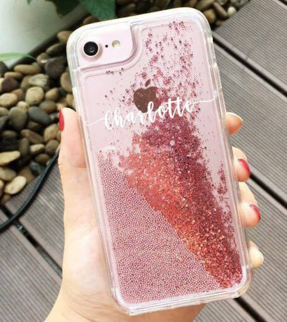 red glitter iphone 6 case