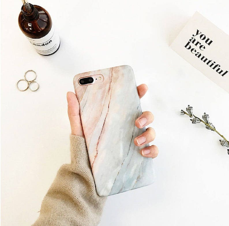 Marble case.iPhone 8 Plus case.iPhone 8 case.Marble iPhone 8 image 0