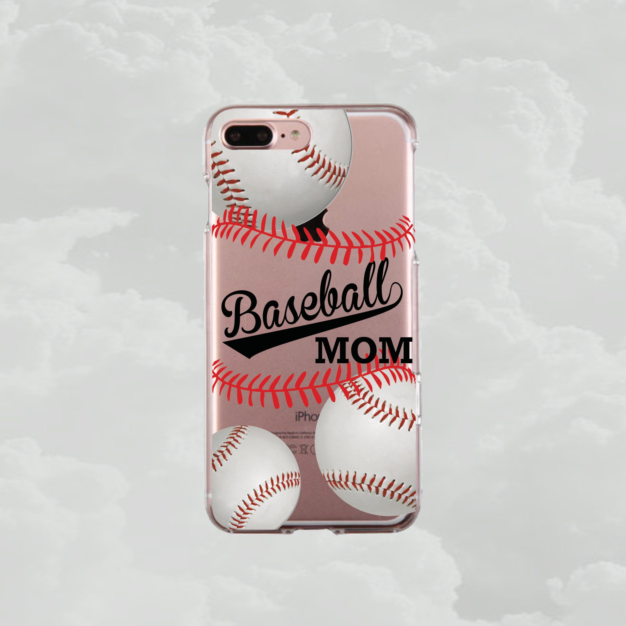 competitive price 59bc4 c586b Baseball Mom phone case.Raising Baller.Gift For Baseball Mom.iPhone X  case.iPhone 8 Plus case.iPhone XR case.iPhone 6 Plus case.Samsung S8