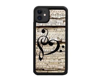 Music Case.iPhone X case.iPhone 7 Case iPhone 7 plus case.iPhone 6s Music Note Case iPhone 6 plus Case iPhone 8 Case iPhone 8 Plus case SE