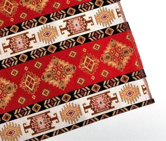 Ethnic Tribal Style Upholstery Fabric Aztec Navajo Fabric Etsy