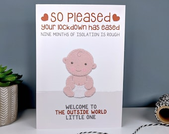 Funny 2021 New Baby Card