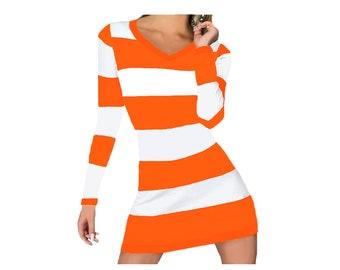 Tennessee Vols, Clemson Stripe Game Day Dress
