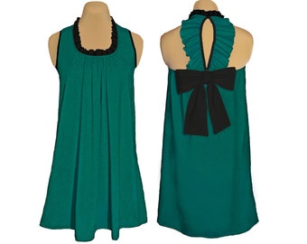 Eagles Back Bow Game Day Dress