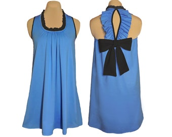 Panthers, Magic, Mavericks Back Bow Game Day Dress