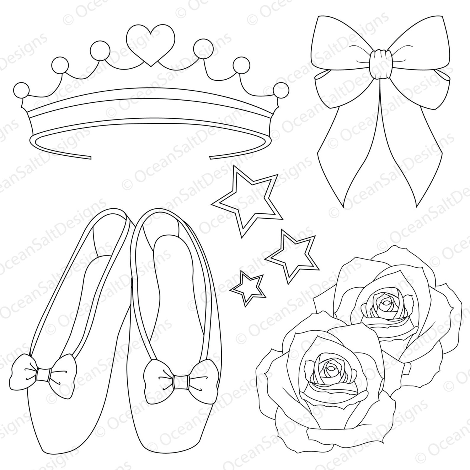 ballerina party clipart digital stamp ballet clipart digi stamp dancing image tutu ballet shoes ballerina invitation kids party