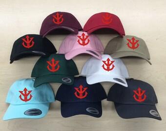 9d3d9913721 Vegeta Saiyan Symbol Dad Hat