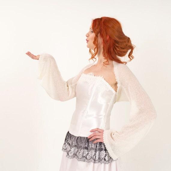Veste blanche bolero
