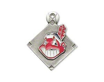 Cleveland Indians Triangle Charm