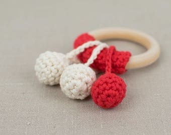 Easy Crochet Teething Ring Tutorial - Two Simple Shapes - PDF - Instant Download