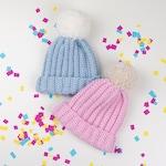 CROCHET PATTERN - Crochet Baby Beanie /Hat - All Sizes - PDF
