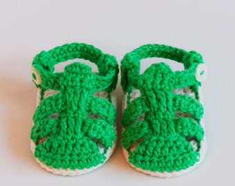 4d97ef93603f CROCHET PATTERN - Crochet Baby Booties Strap Sandals - Baby Shoes - PDF