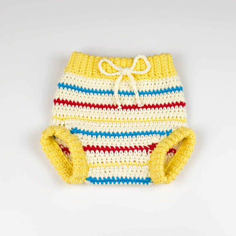 CROCHET PATTERN PDF  Crochet Baby Pants Retro Chic  Baby image 0