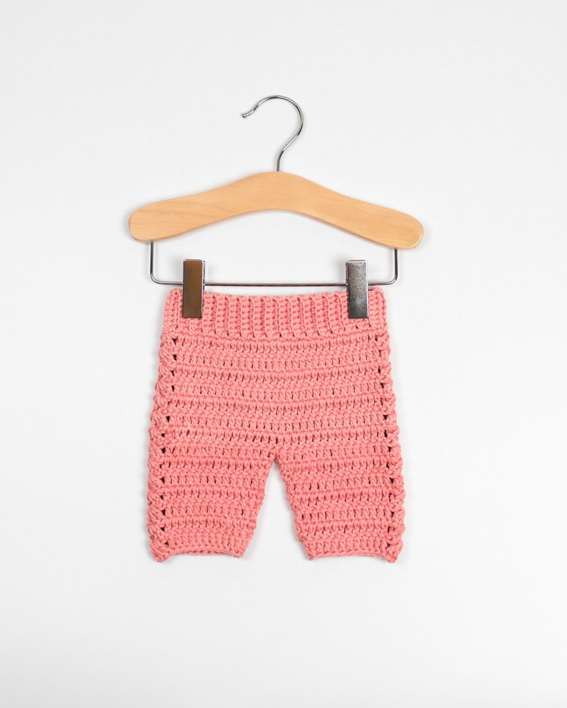 CROCHET PATTERN  Crochet Baby Pants Baby Romper Baby image 0