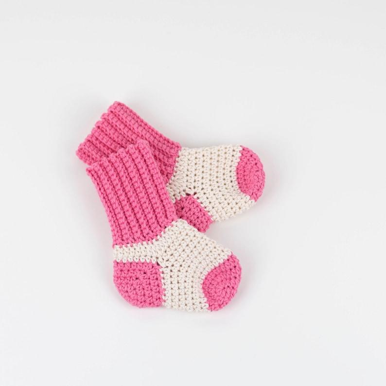 Crochet Pattern Pdf Crochet Baby Socks Baby Booties Two Etsy