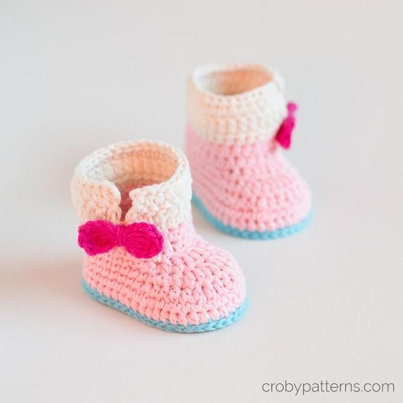 CROCHET PATTERN Crochet Baby Booties