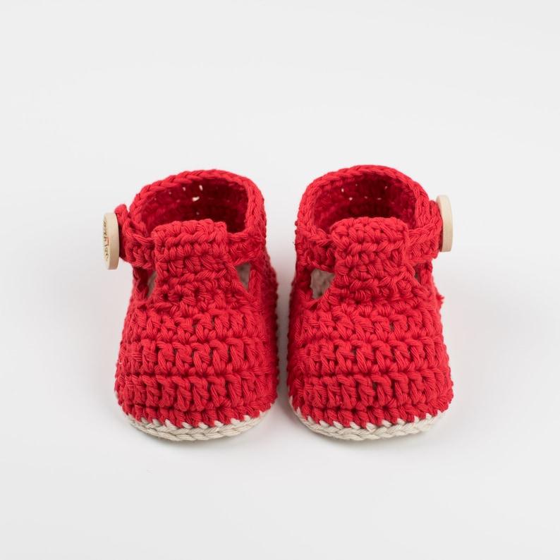 d5c0e0867546 CROCHET PATTERN PDF Crochet Baby Booties Ruby Slippers Baby