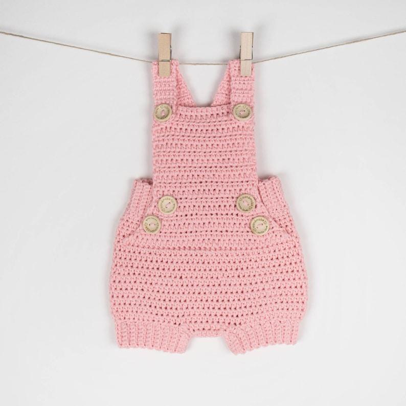 Crochet Pattern Pdf Crochet Baby Romper Pure Happiness Baby Etsy