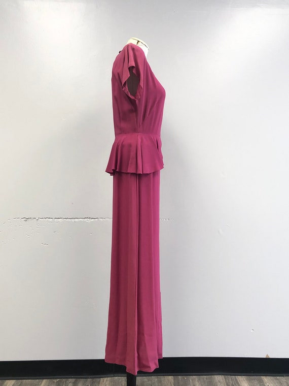 1930's/40's Gown - image 7