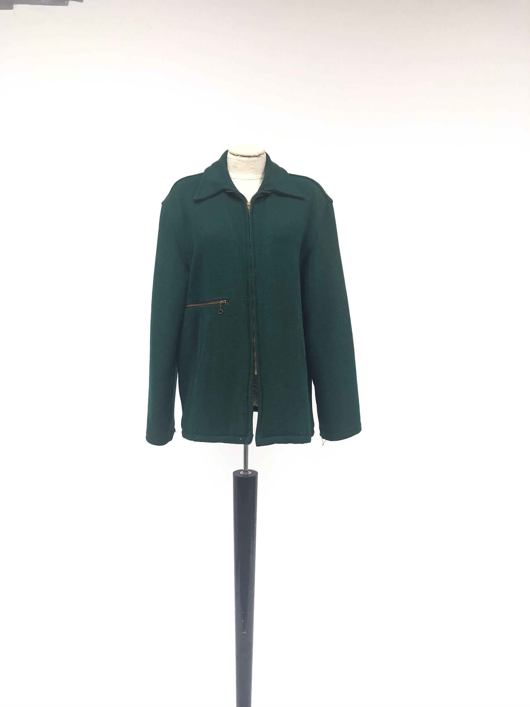 1940s Mens Ties | Wide Ties & Painted Ties 1940s Wool Work Coat $0.00 AT vintagedancer.com