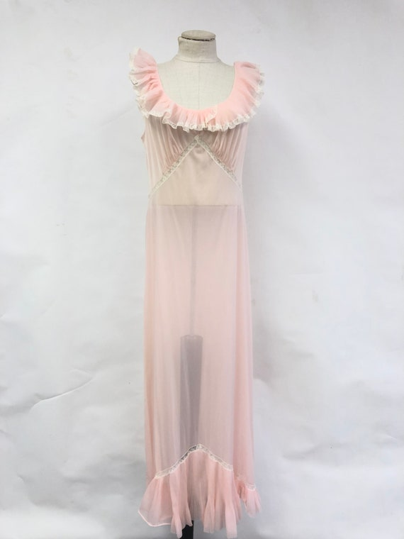 1940's Sheer Night Gown
