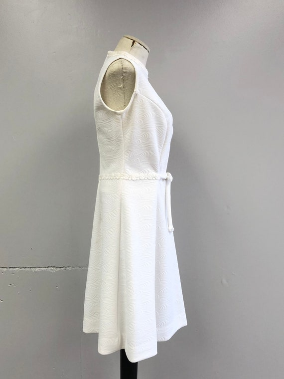 Vintage 60's/70's White Dress - image 6