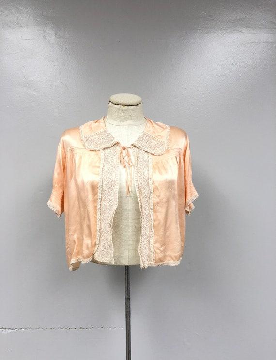 1930's Bed Jacket